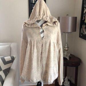 🔥 Free People Hooded Sweater-NWOT